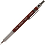 Alvin Draft-Matic Mechanical Pencil: Maroon Barrel, 0.9mm