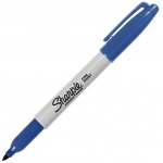Sharpie® Fine Point Blue Permanent Marker; Color: Blue; Tip Type: Fine Nib; (model SN30003), price per each
