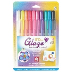 Glaze™ 3D Glossy Pen 10-Pack; Color: Multi; Ink Type: Gel; Type: Paint Pen; (model 38370), price per set