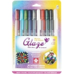 Glaze™ 3D Glossy Pen 10-Pack: Multi, Gel, Paint Pen, (model 38369), price per set