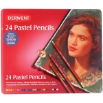 Derwent Pastel Pencil 24-Color Tin Set: Multi, Pencil, (model 32992), price per set