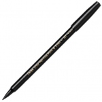 Pentel Color Pen Marker Set: Black, Single Color, Pack of 12