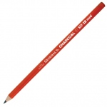 General's® Charcoal Pencil 2B; Color: Black/Gray; Degree: 2B; Format: Pencil; (model 557G-2B), price per dozen (12-pack)