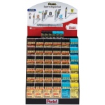 Pentel® Super Hi-Polymer® Lead Display (Large); Lead Color: Multi; Type: Lead; (model HP36D), price per each