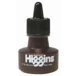 Higgins® Waterproof Color Drawing Ink Red Violet: Purple, Red/Pink, Bottle, Dye-Based, 1 oz, Waterproof, (model SN44106), price per each
