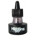 Higgins® Waterproof Color Drawing Ink Neutral Gray; Color: Black/Gray; Format: Bottle; Ink Type: Dye-Based; Size: 1 oz; Waterproof: Yes; (model SN44112), price per each