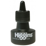 Higgins® Waterproof Color Drawing Ink Russet: Brown, Red/Pink, Bottle, Dye-Based, 1 oz, Waterproof, (model SN44115), price per each