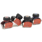 Manuscript Calligraphy Ink Black: Black/Gray, Jar, Fountain, 1 oz, (model MC0201BL), price per each