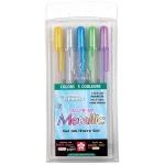 Gelly Roll Metallic Gel Pen: Hot Metallic, 5-Color Set