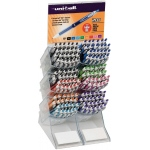 Uni-Ball® 207™ Signo Colored Retractable Gel Pen Display; Color: Multi; Ink Type: Gel; Tip Type: Retractable; (model SN1754235D), price per each