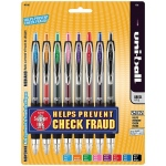 Uni-Ball® 207™ Signo Colored Retractable Gel Pen 8-Color Set: Multi, Gel, Retractable, (model SN40110), price per set
