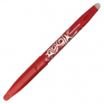 Pilot®  Frixion Ball Erasable Gel Pen Red; Color: Red/Pink; Ink Type: Gel; Tip Type: Fine Nib; (model FX7-RED), price per each