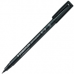 Lumocolor Permanent Marker: Superfine, Individual (Black)