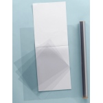 "Grafix® Clear-Lay™ 9"" x 12"" x .005"" Vinyl Film: Clear, Pad, 25 Sheets, 9"" x 12"", .005"", Film, (model 6302-5), price per 25 Sheets pad"