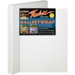 "Fredrix® Gallerywrap™ 24"" x 24"" Stretched Canvas: White/Ivory, Sheet, 24"" x 24"", 1 3/8"" x 1 3/8"", Stretched, (model T50870), price per each"