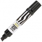 Pilot®  Super Color Jumbo Black Permanent Marker: Black/Gray, Refillable, Chisel Nib, (model SC6600-BK), price per each