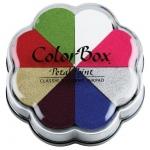 ColorBox® Petal Point Ink Pad Celebrate: Multi, Pad, Pigment, (model CS08025), price per each