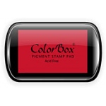 ColorBox Pigment Ink Pad: Cranberry, Full Size