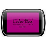 ColorBox® Full Size Ink Pad Peony; Color: Purple; Format: Pad; Ink Type: Pigment; Shape: Full Size Rectangle; (model CS15016), price per each