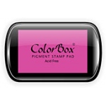 ColorBox® Full Size Ink Pad Orchid; Color: Red/Pink; Format: Pad; Ink Type: Pigment; Shape: Full Size Rectangle; (model CS15034), price per each