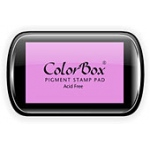 ColorBox® Full Size Ink Pad Lilac; Color: Purple; Format: Pad; Ink Type: Pigment; Shape: Full Size Rectangle; (model CS15035), price per each