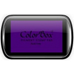 ColorBox® Full Size Ink Pad Violet; Color: Purple; Format: Pad; Ink Type: Pigment; Shape: Full Size Rectangle; (model CS15017), price per each
