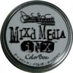 ColorBox® Mix'd Media Inx™ Pewter Pigment Ink Pad: Black/Gray, Pad, Pigment, Refillable, (model CS37012), price per each
