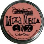 ColorBox® Mix'd Media Inx™ Peaches Pigment Ink Pad: Red/Pink, Pad, Pigment, Refillable, (model CS37014), price per each