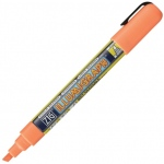 Zig®  Illumigraph® Wet Erase Board Marker Fluorescent Orange: Orange, Water-Based, 6mm, Chisel Nib, (model PMA-510-111), price per each