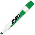 Expo® Dry-Erase Broad-Tip Marker Green; Color: Green; Tip Type: Chisel Nib; (model SN830-G), price per each