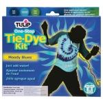 Tulip® One-Step Dye™ Moody Blues Tie-Dye Kit for 8 Shirts: 8 Shirts, Multi, Bottle, Tie Dye, (model D25544), price per kit