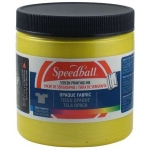 Speedball® 8 oz. Opaque Fabric Screen Printing Ink Citrine: Yellow, Jar, Fabric, 8 oz, Screen Printing, (model 4805), price per each