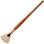 Princeton™ Best Refine Natural Bristle Oil and Acrylic Brush Fan 12 : Best, Long Handle, Bristle, Natural, Fan, Acrylic, Oil, (model 5400FN-12), price per each
