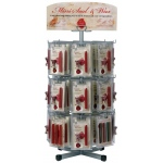 Manuscript Mini Seal and Wax Display: Display Assortment, (model MSW72D), price per each