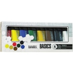 Liquitex® Basics Acrylic 8-Color Set; Color: Multi; Format: Tube; Size: 75 ml; Type: Acrylic; (model 101008), price per set