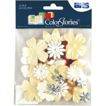 """Blue Hills Studio™ ColorStories™ Handmade Paper Potpourri Yellow; Color: Yellow; Material: Paper; Size: 2 1/4""""; Type: Dimensional; (model BHS10210), price per each"""