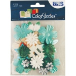 """Blue Hills Studio™ ColorStories™ Handmade Paper Potpourri Green; Color: Green; Material: Paper; Size: 2 1/4""""; Type: Dimensional; (model BHS10310), price per each"""