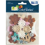 Blue Hills Studio ColorStories Brown Story: 22 Paper Potpourri, Up to 2 1/4""